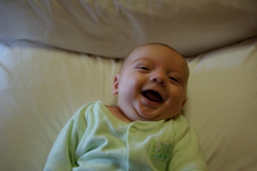 Ethan Laughing