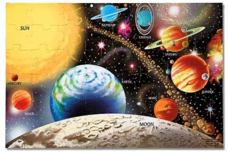 Solar System Floor Puzzle picture 2869