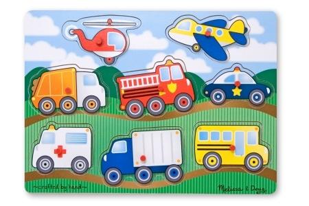 Vehicle Peg Puzzle picture 2590