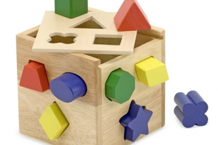 Shape Sorting Cube picture 1756