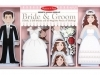 Bride & Groom Magnetic Dress-Up Set image