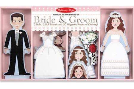 Bride & Groom Magnetic Dress-Up Set picture 2902