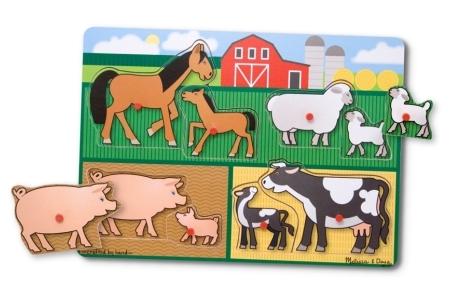 Farm Peg Puzzle picture 2591