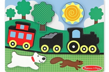 Chunky Scene Red Caboose picture 2990