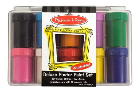 Deluxe Poster Paint Set (10 Bottles) picture 1581