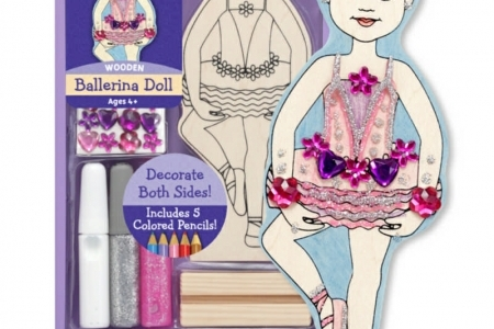 Ballerina Doll Party Favour picture 1551