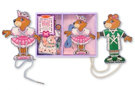 Lacing Bear Dress-Up picture 1680