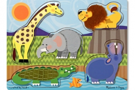 Zoo Touch and Feel Puzzle picture 1816
