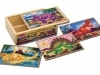 Dinosaur Jigsaw Puzzles in a Box image