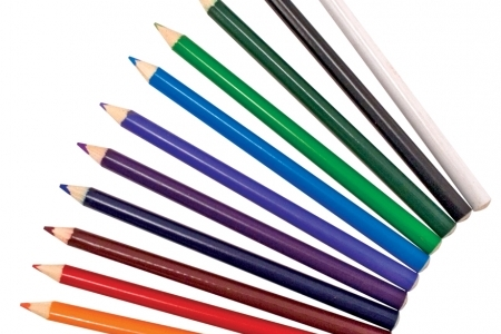 Jumbo Triangular Coloured Pencils (Set of 12)  picture 1672