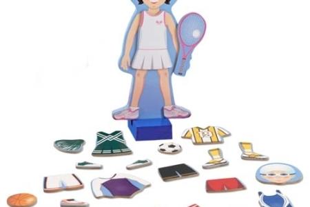 Julia - Magnetic Dress-Up Set picture 2775
