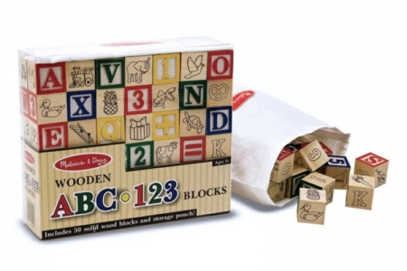 Wooden ABC/123 Blocks picture 1802