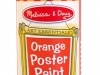 Orange Poster Paint image