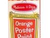 Orange Poster Paint image