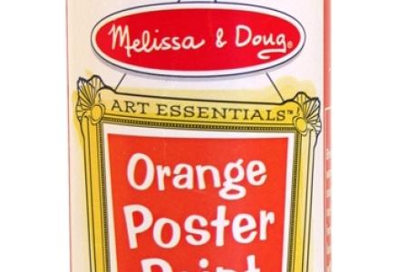 Orange Poster Paint picture 1708