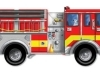 Giant Fire Truck Floor Puzzle image