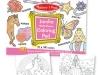 Jumbo Colouring Pad - Pink image