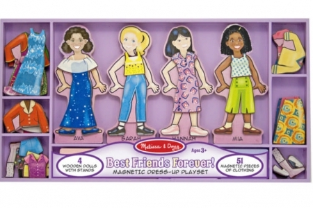 Best Friends Forever! Magnetic Dress-up Set picture 1559