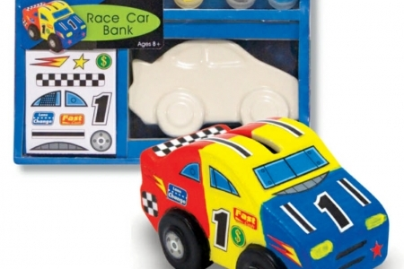 Race Car Bank DYO picture 1743
