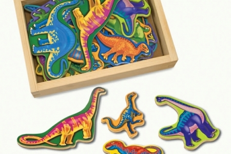 Wooden Dinosaur Magnets picture 1807
