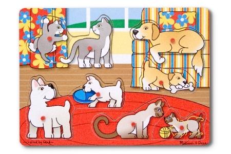 Pets Peg Puzzle picture 2588