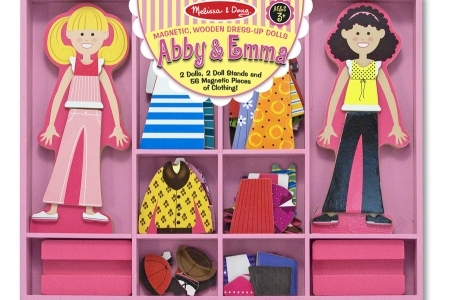 Abby and Emma Magnetic Dress-up Set picture 1542