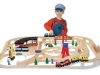 Wooden Railway Set image