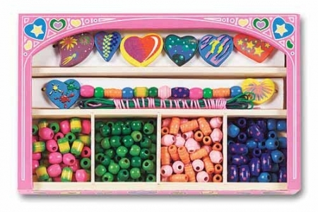 Sweet Heart Wooden Bead Set picture 2912