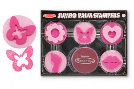 Jumbo Palm Stampers - Pink picture 1670