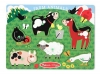 Farm Animal Peg Puzzle image