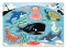 Sea Creatures Peg Puzzles image