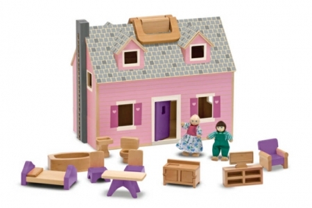 Fold and Go Mini Dolls House picture 1642