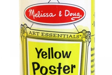 Yellow Poster Paint picture 1814