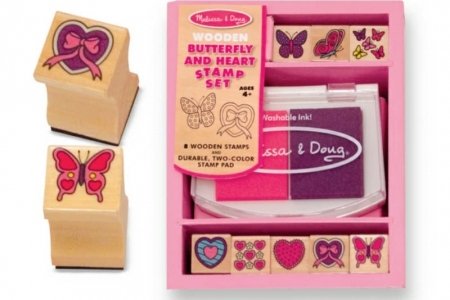 Butterfly and Heart Stamp Set picture 1571