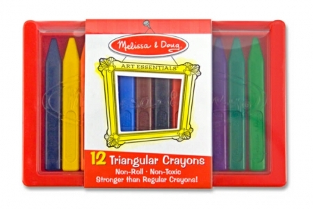 Triangular Crayon Set (12pc) picture 1788