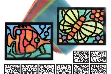 Stained Glass Frame Set picture 2609