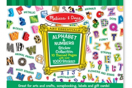 Sticker Collection - Alphabet & Numbers picture 1767