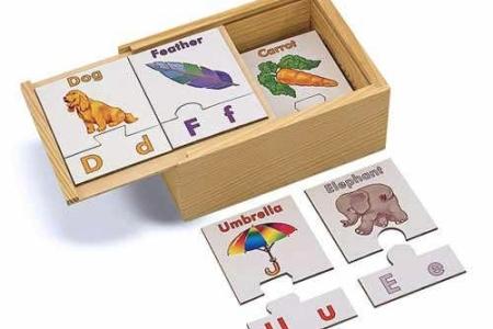 Alphabet Puzzle Cards picture 1546