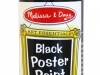 Black Poster Paint image